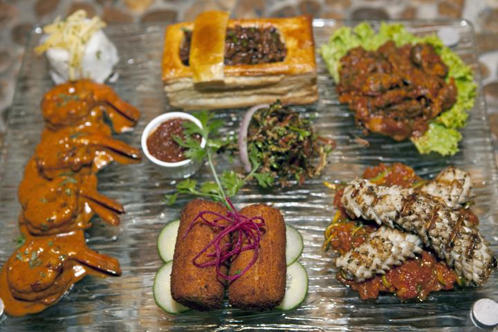 مطعم ترايبس للمأكولات الأفريقية في دبي