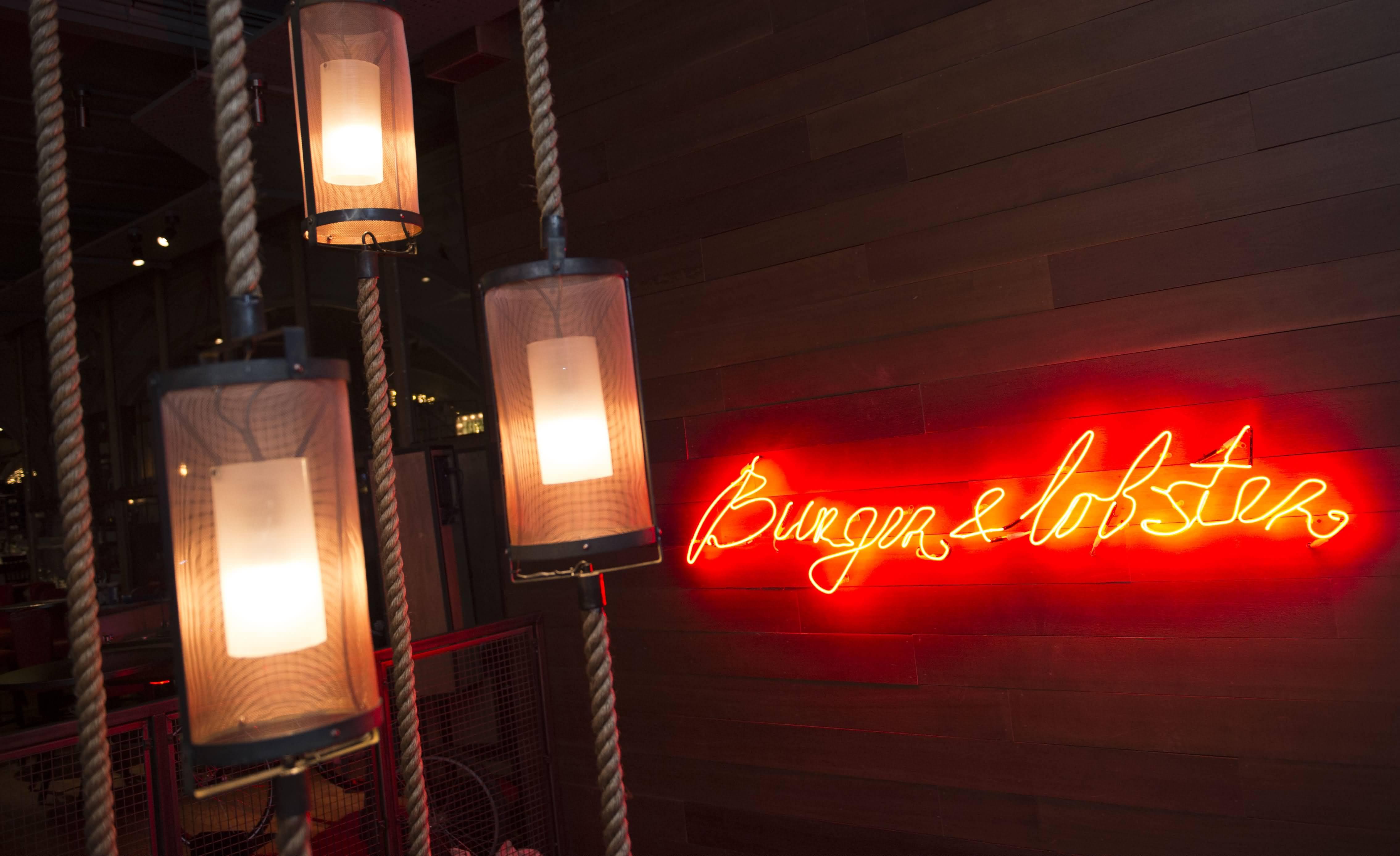 مطعم برجر آند لوبستر يفتح أبوابه في دبي
