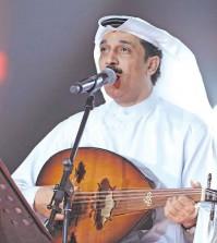 حفل المغني عبد الله الرويشد في القرية العالمية خلال اليوم الوطني الكويتي