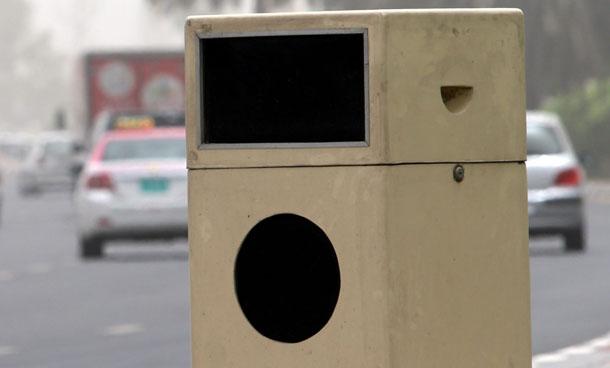 رادارات مراقبة على شكل حاويات قمامة في شوارع دبي
