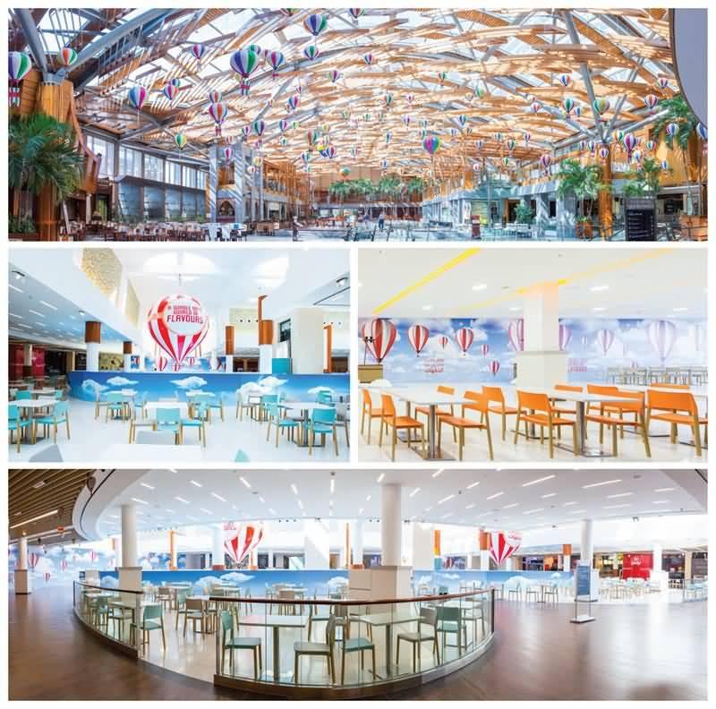 مركز برجمان يفتتح ردهة المطاعم الجديدة