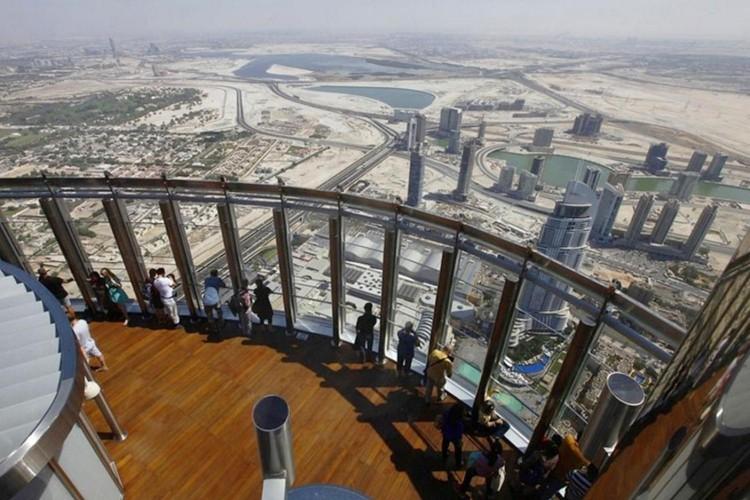 طابق المشاهدة في برج خليفة