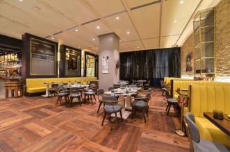 مطعم بازار للمأكولات العالمية في دبي