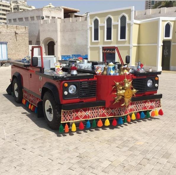 '' كشتة كافيه '' أول مقهى متنقل للمشروبات و الأطعمة الإمارتية التقليدية في دبي