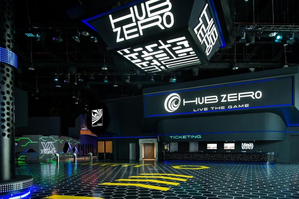 """إفتتاح المجمع الترفيهي """"هب زيرو '' في دبي"""