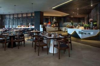 مطعم أكسنتس للمأكولات العالمية في دبي