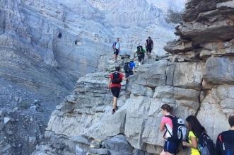 """بالفيديو .. مغامرة """"فيا فيراتا"""" في منطقة جبل جيس في رأس الخيمة"""