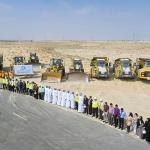 إنطلاق أعمال البنية التحتية في مدينة دبي لتجارة الجملة