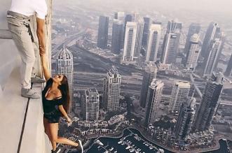 دبي تدين بشدة ما قامت به عارضة أزياء روسية في برج كيان