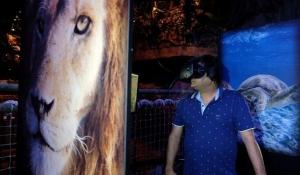 بالفيديو تعرف على حديقة الحيوانات الافتراضية VRZoo