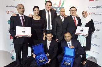 """""""العنوان مرسى دبي"""" يحصل على جائزتي """"أولمبياد الخدمة"""""""