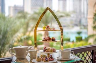 ذي بالاس وسط دبي يقدم أمسيات الشاي بلمسات بولغاري